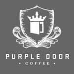 150x150 purple door coffee logo dark gray